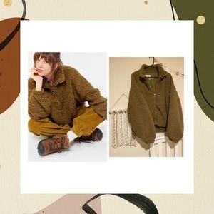 UO teddy jacket 🖤